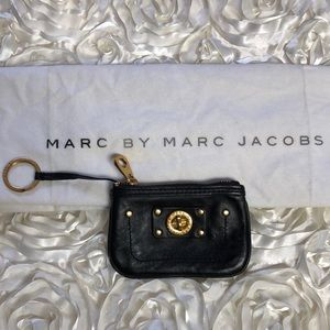 Marc Jacobs Coin Purse Black Leather
